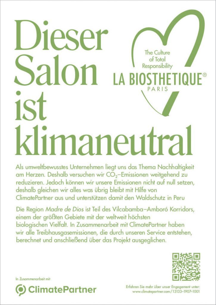 Friseur Teublitz klimaneutraler Salon